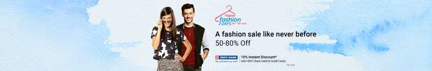 [LIVE DEALS ADDED] Flipkart Fashion Days [10-18June]: 10% Off with HDFC Cards | 20% Cashback with PhonePe: Upto 80% Off on Fashion & Lifestyle! 1