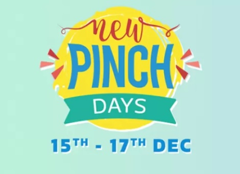 Flipkart New Pinch Days Sale Offers : 15th-17th December 2017 Grab Best Deals 1