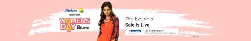Flipkart Women's Day [8th March]: Upto 80% Off On Women's Clothing (ALL DEALS ADDED) 1