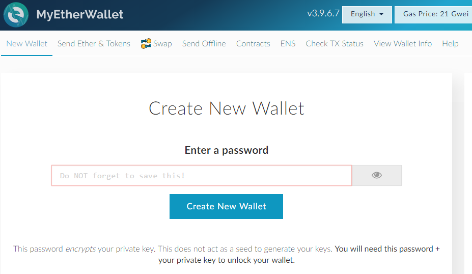 How to Create your own Ethereum Wallet? 2