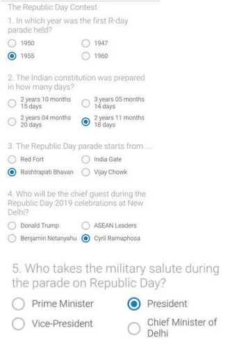 Win Honor 9N For ₹1 Win Contest | Flipkart Republic Day Sale | Quiz Answers 2